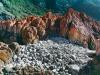y10472 - Africa, South Africa, Western Cape, coastal rocks near Plettenbergbay.  - Afrika, Suedafrika, Westkap. Kuestenlandschaft bei Plettenbergbay.  - 58_MB.  Copyright: Obie Oberholzer / Bilderberg
