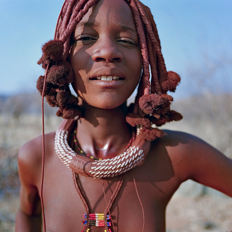 himba girls Young