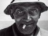 Gerhardus Bruin, retired fisherman. Langebaan. South Africa. 1977.