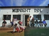 The Midnight Inn at 10 o'clock in the morning. Phuthaditjaba. South Africa.