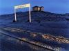 The abandoned railway station of Grasplatz at Kolmanskop outside the Namib coastal town of Lüderitz.