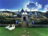 The Beer Bottle Castle near Clarens in South Africa.