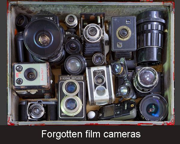 1. Forgotten film cameras