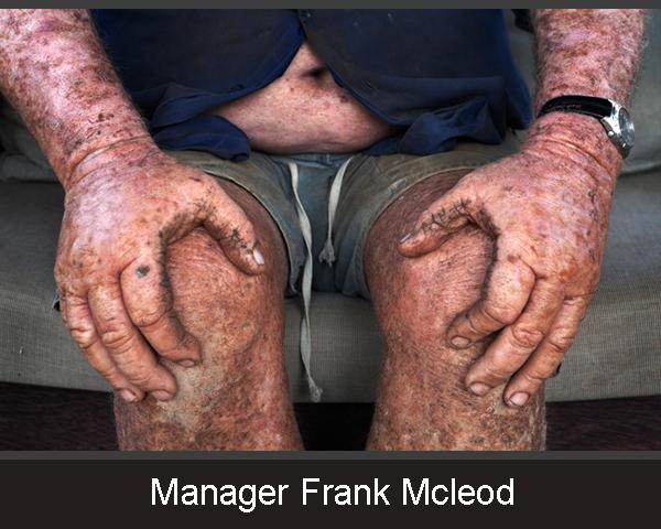 1. Manager Frank Mcleod