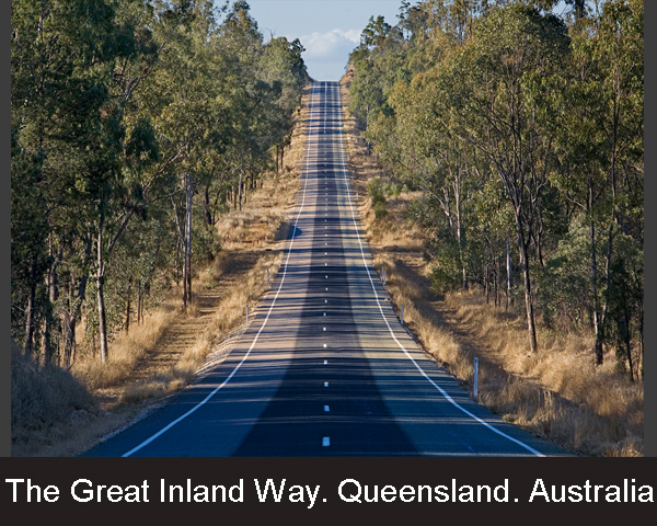 1. The Great Inland Way. Queensland. Australia