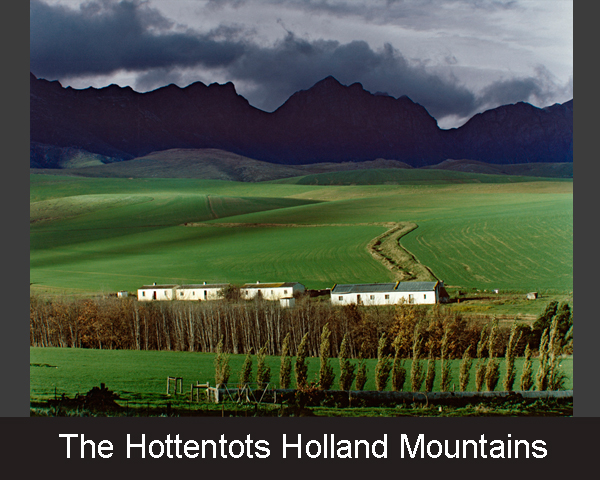 1. The Hottentots Holland Mountains
