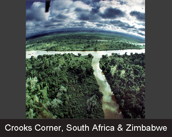 11. Crooks Corner. South Africa & Zimbabwe