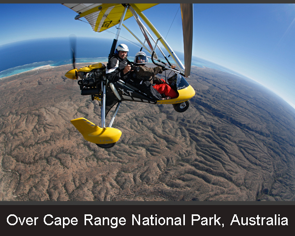 12. Over Cape Range National Park. Australia