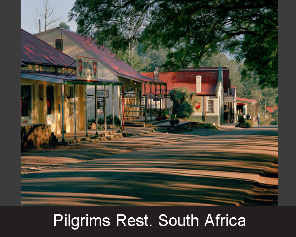 2. Pilgrims Rest. South Africa