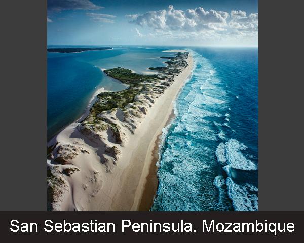 2. San Sebastian Peninsula. Mozambique