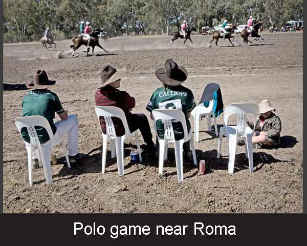 3. Polo game near Roma