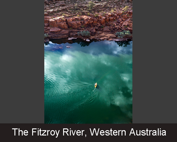 3. The Fitzroy River. Western Australia
