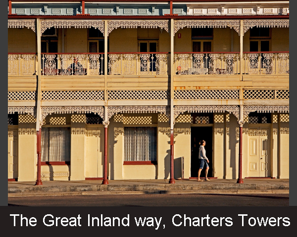 5. The Great Inland way. Charters Towers