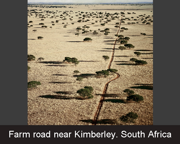 9. Farm road near Kimberley. South Arica