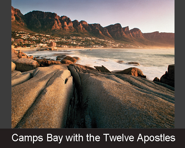 Camps Bay with the Twelve Apostles