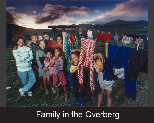 Family in the Overberg