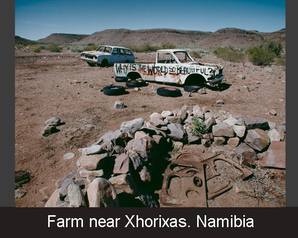 Farm near Xhorixas. Namibia