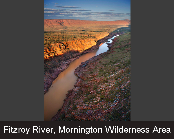 Fitzroy River. Mornington Wilderness Area