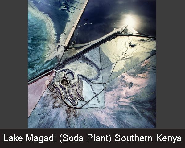 Lake Magadi. (Soda Plant) Southern Kenya