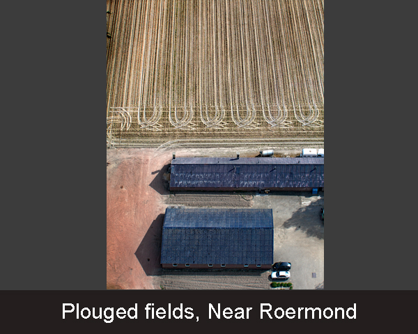 Plouged fields. Near Roermond