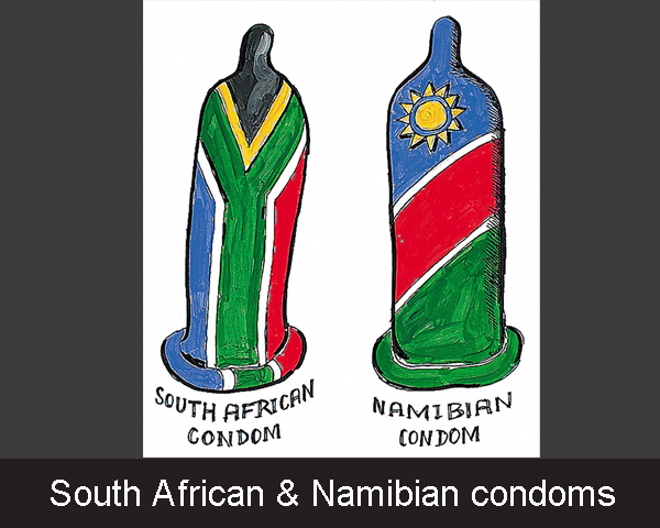 South African & Namibian condoms - op maat