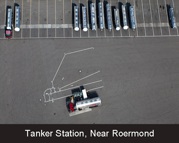 Tanker Station. Near Roermond