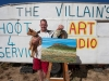 deon-venter-the-villian-with-dog-picasso-artist-hondeklipbaai-south-africa-2010
