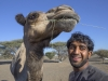 23 year old Mohamed Al Harti is already a successful camel racer from the town of Al Qabil in northern Oman.