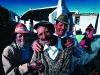 Isak Karelse, Hermanus Dreyers, Samuel Martinus. Retired fishermen. Arniston. Western Cape. South Africa. '99.