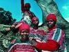 Housekeeping ladies. Ardmore Guest Farm. Champagne Valley. KwaZulu – Natal. South Africa. '99.