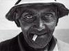 Gerhardus Bruin, retired fisherman. Langebaan. South Africa. 1977.